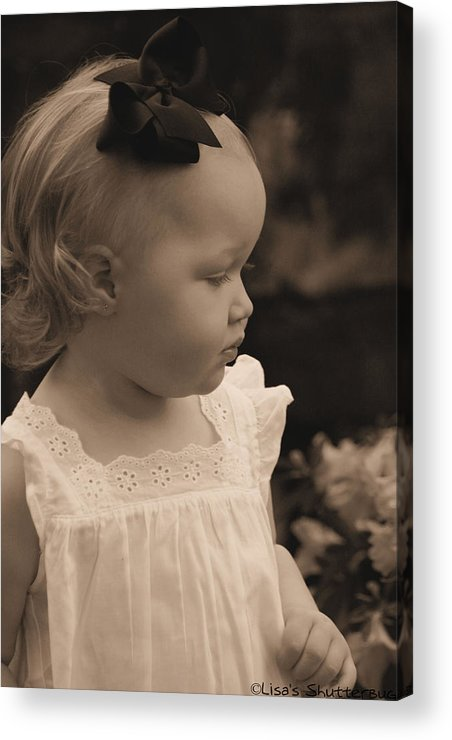 Acrylic Print featuring the photograph Parker by Lisa Johnston