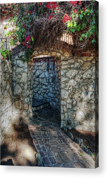 Architecture Acrylic Print featuring the photograph Pathways by Stephen Campbell