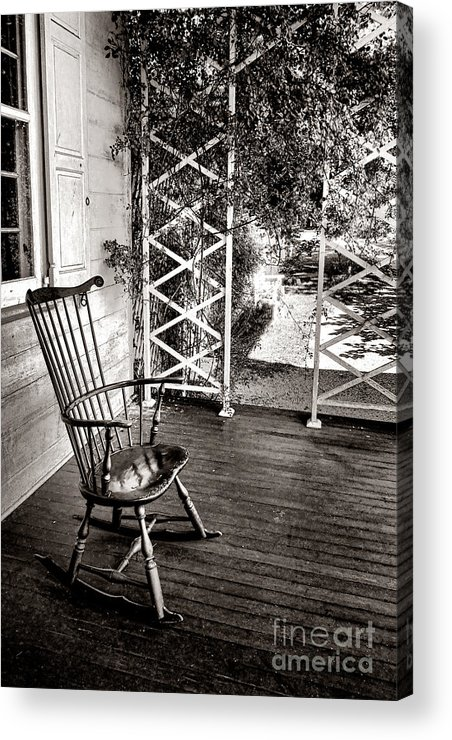 Rocking Acrylic Print featuring the photograph Peace And Quiet by Olivier Le Queinec