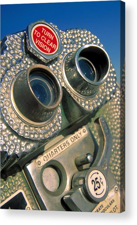 View Acrylic Print featuring the photograph Peep Show by Skip Hunt
