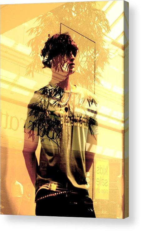 Jez C Self Acrylic Print featuring the photograph Pelha by Jez C Self