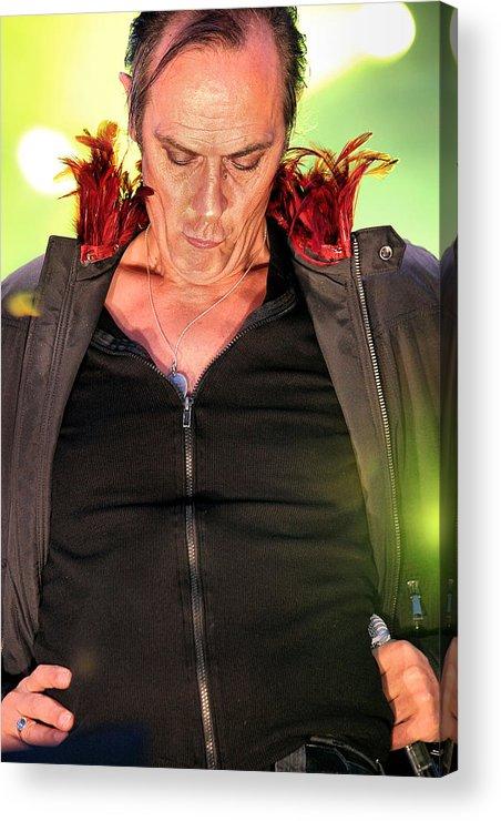 Peter Acrylic Print featuring the photograph Peter Murphy by David McDonald