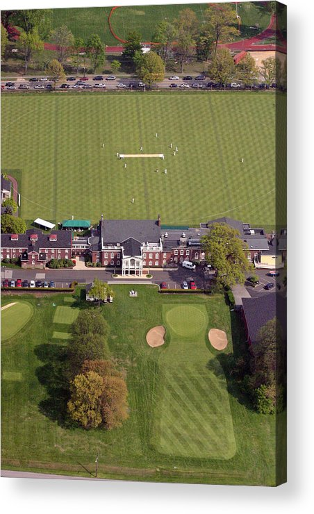 Pcc Acrylic Print featuring the photograph Philadelphia Cricket Club St Martins by Duncan Pearson