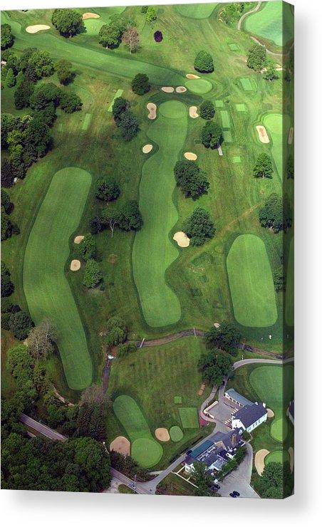 Philadelphia Cricket Club Acrylic Print featuring the photograph Philadelphia Cricket Club Wissahickon Golf Course 1st Hole by Duncan Pearson
