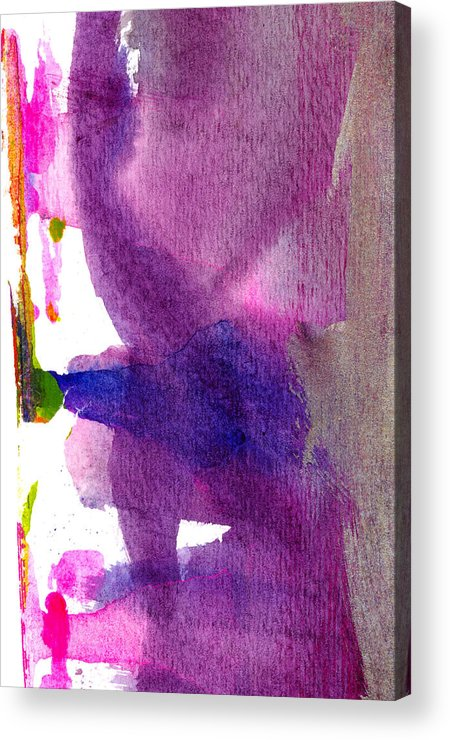 Abstract Acrylic Print featuring the painting Pilar by Tonya Doughty