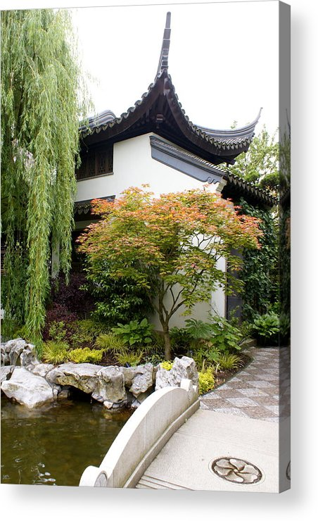Garden Acrylic Print featuring the photograph Portland by Sonja Anderson