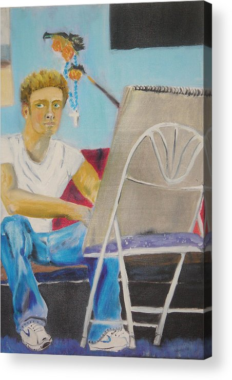 Acrylic Print featuring the painting Post Relationship by Joseph Arico