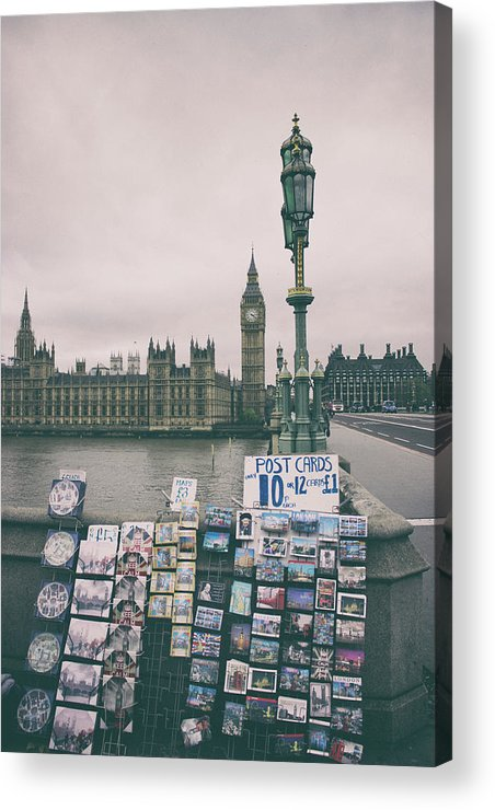 London Acrylic Print featuring the photograph Postcards From Westminster by Martin Newman