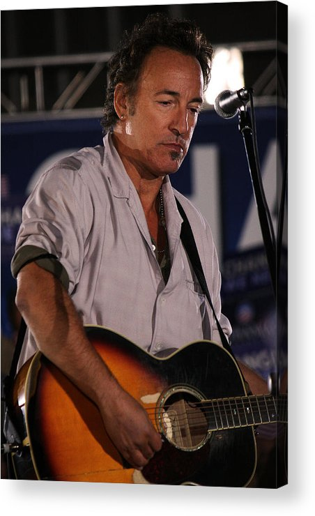 Bruce Springsteen Acrylic Print featuring the photograph Promised Land by Brian M Lumley