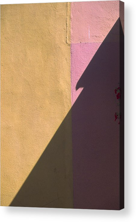 Quebec Acrylic Print featuring the photograph Quebec Shadow 1 by Art Ferrier
