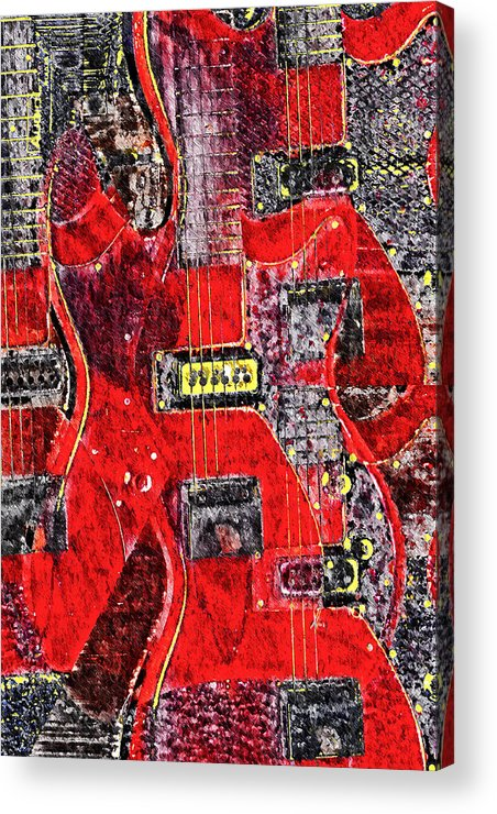 Guild Acrylic Print featuring the photograph Red Devil by Bill Cannon