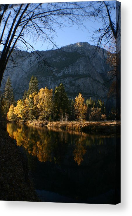 Yosemite Acrylic Print featuring the photograph Reflections by Travis Day