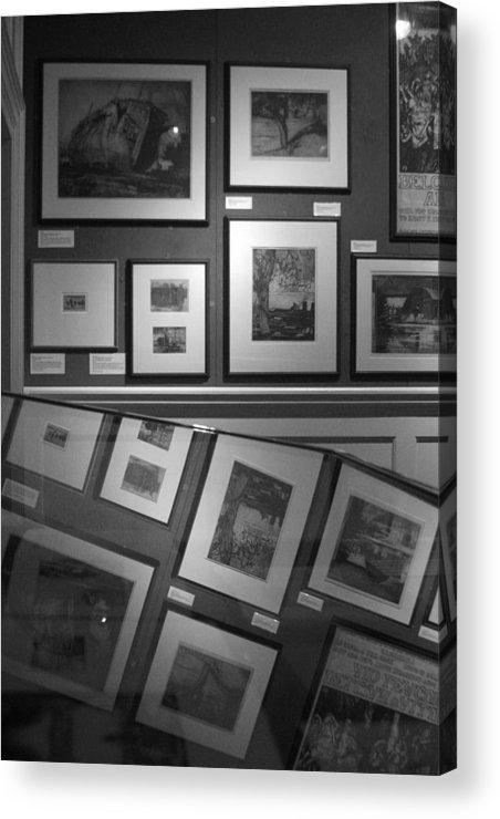 Jez C Self Acrylic Print featuring the photograph Reflective Art 1 by Jez C Self