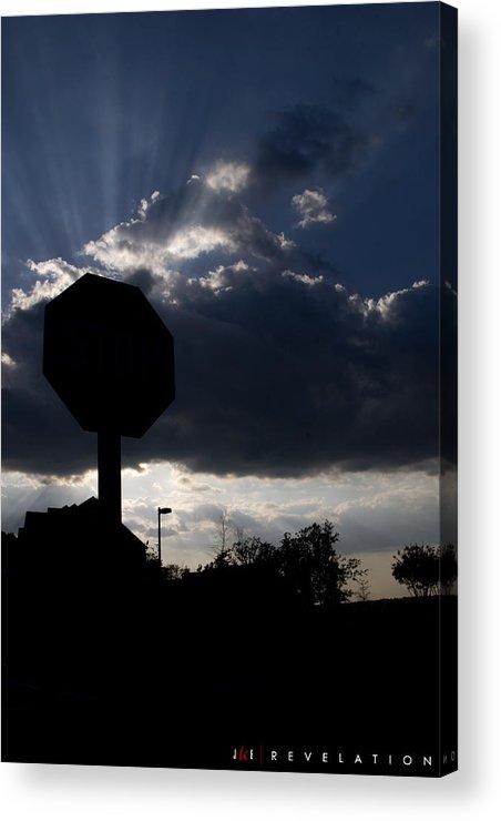 Sky Acrylic Print featuring the photograph Revelation by Jonathan Ellis Keys