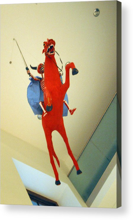 Jez C Self Acrylic Print featuring the photograph Riding On High by Jez C Self
