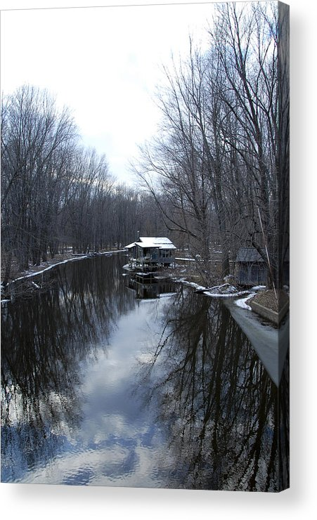 River Acrylic Print featuring the photograph Riverhouse by Marcus L Wise