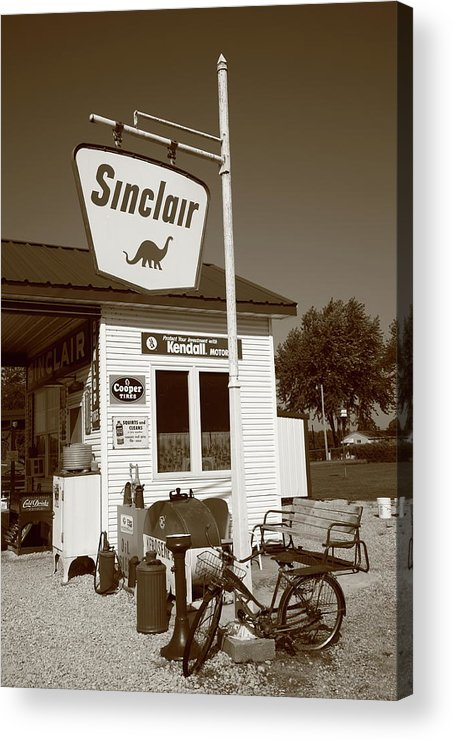 66 Acrylic Print featuring the photograph Route 66 - Paris Springs Missouri by Frank Romeo