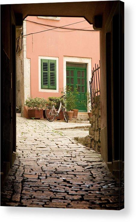 Croatia Acrylic Print featuring the photograph Rovinj by Ian Middleton