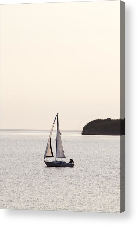 Sail Boat Acrylic Print featuring the photograph Sailing by Patrick Ziegler