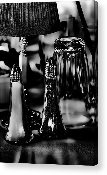 Salt Acrylic Print featuring the photograph Salt And Pepper by David Patterson