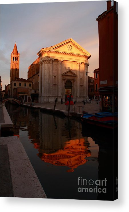 Venikce Acrylic Print featuring the photograph San Barnaba by Michael Henderson