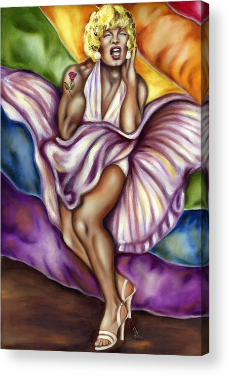 Monroe Acrylic Print featuring the painting San Franciscan Breeze by Hiroko Sakai