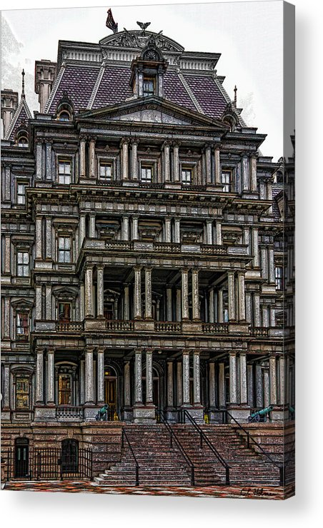 Building Acrylic Print featuring the photograph Second Empire by Christopher Holmes