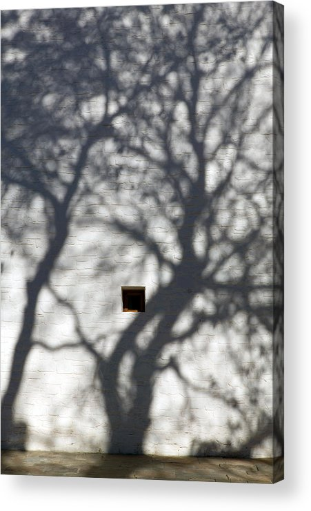 Shadows Acrylic Print featuring the photograph Shadow Series Bhutan by Ken Hayden