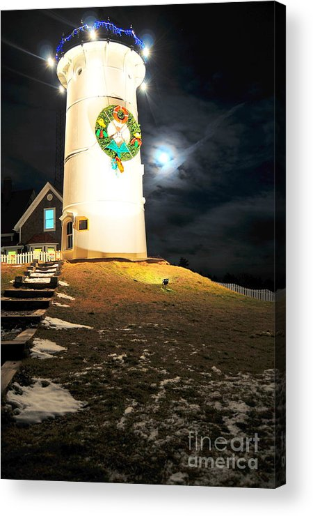 Nobska Acrylic Print featuring the photograph Solstice Light by Catherine Reusch Daley