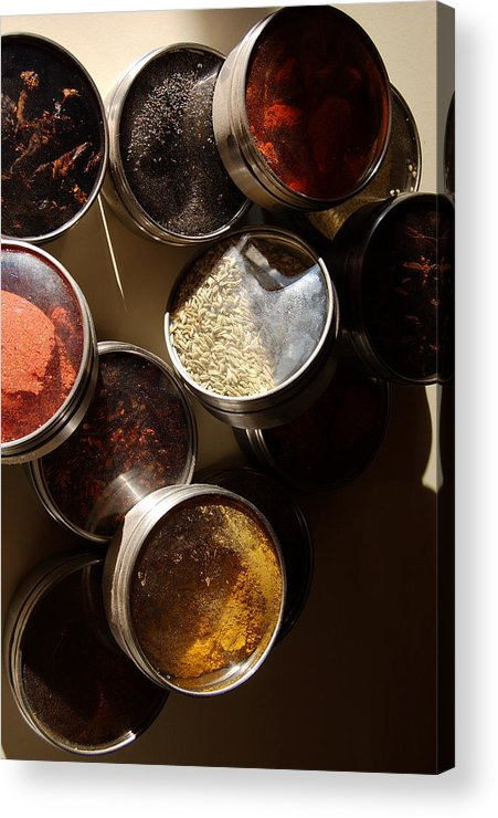 Photography Acrylic Print featuring the photograph Spices by Heather S Huston