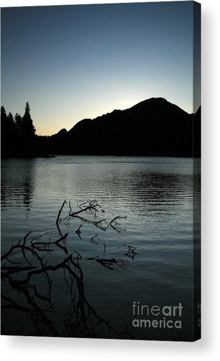 Water Acrylic Print featuring the photograph Sprague Lake Dawn by Timothy Johnson