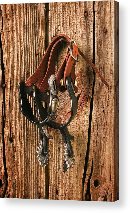 Spur Acrylic Print featuring the photograph Spurs by Garry Gay