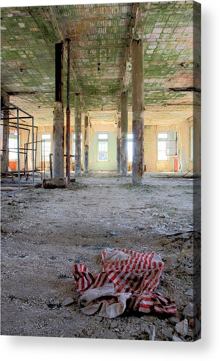 Abandonment Acrylic Print featuring the photograph Stripes by Kevin Brett