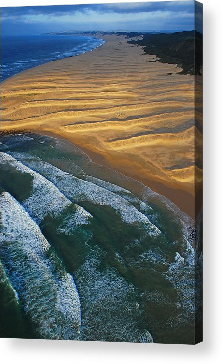 Coast Acrylic Print featuring the photograph Sun Rise Coast by Skip Hunt