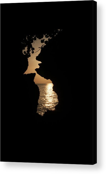 Rock Acrylic Print featuring the photograph Sunset And Passion by Jim Cole
