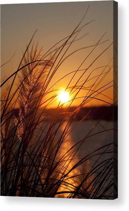 Sunset Acrylic Print featuring the photograph Sunset Over Lake Wylie Sc by Dustin K Ryan