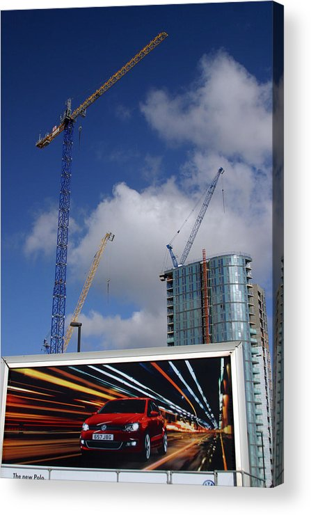 Jez C Self Acrylic Print featuring the photograph Super Highway by Jez C Self