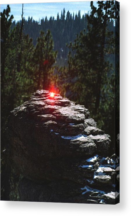 Lake Tahoe Acrylic Print featuring the photograph Tahoe by Steven Wirth