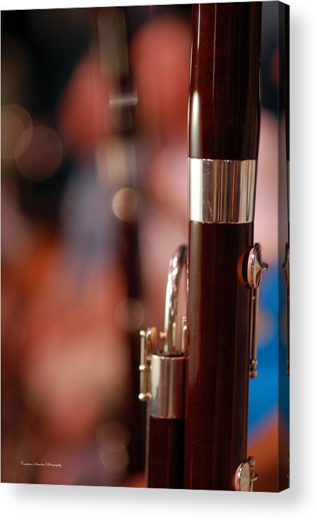 Bassoon Acrylic Print featuring the photograph The Bassoon Section by Constance Sanders