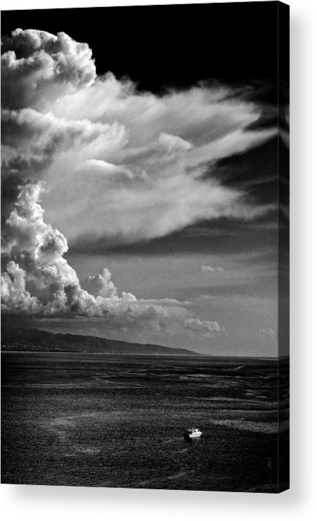 Cloud Acrylic Print featuring the photograph The Cloud by Silvia Ganora