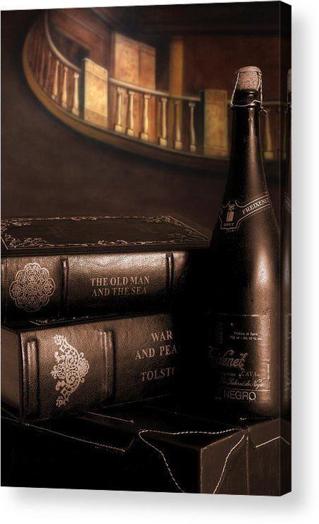 Wine Acrylic Print featuring the photograph The Finer Things by Steve Parrott