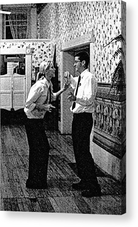 Dance Acrylic Print featuring the photograph The Help by John Toxey