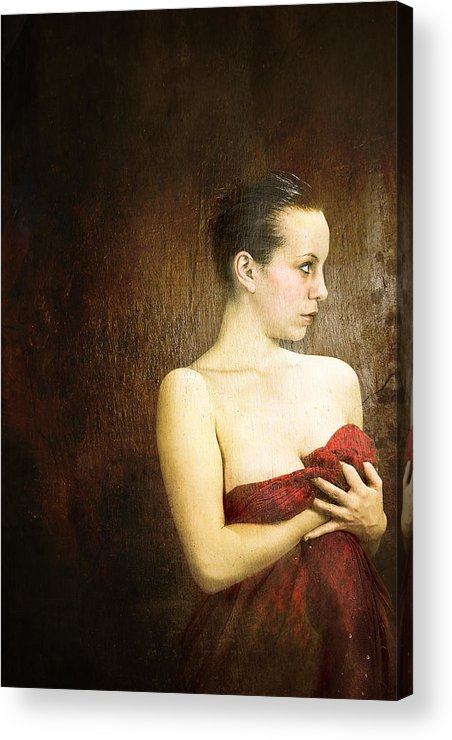 Acrylic Print featuring the photograph The Last Look by Zygmunt Kozimor