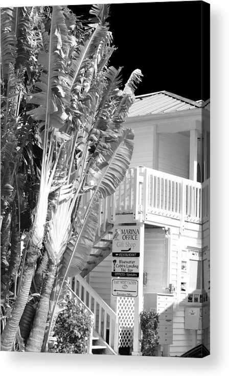 Office Acrylic Print featuring the photograph The Marina Office by Don Youngclaus