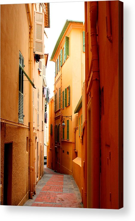 Photgrahy Acrylic Print featuring the photograph The Streets Of Venice by Greg Sharpe