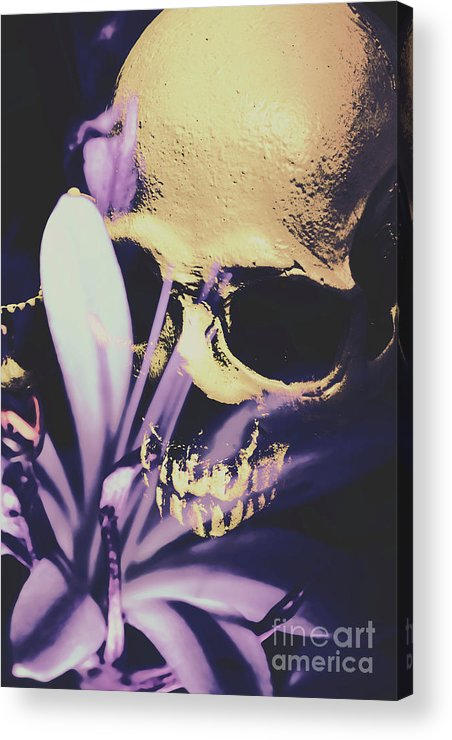 Death Acrylic Print featuring the photograph The Wilted Weather Underground by Jorgo Photography - Wall Art Gallery