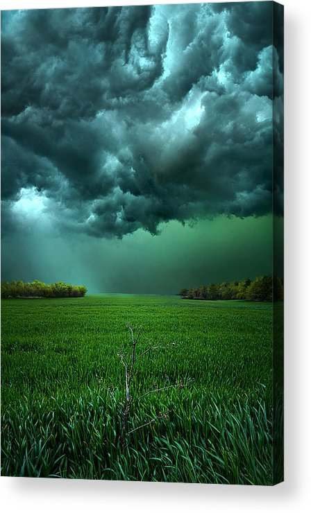 Storm Acrylic Print featuring the photograph There Came A Wind by Phil Koch