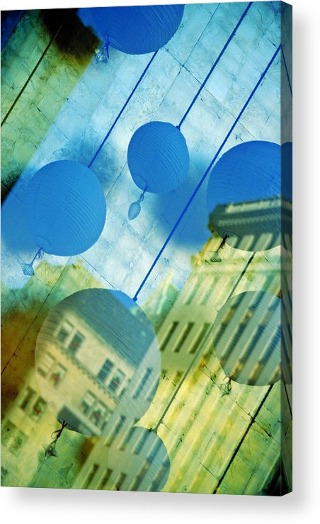 New York Acrylic Print featuring the photograph Tiffanys by Skip Hunt