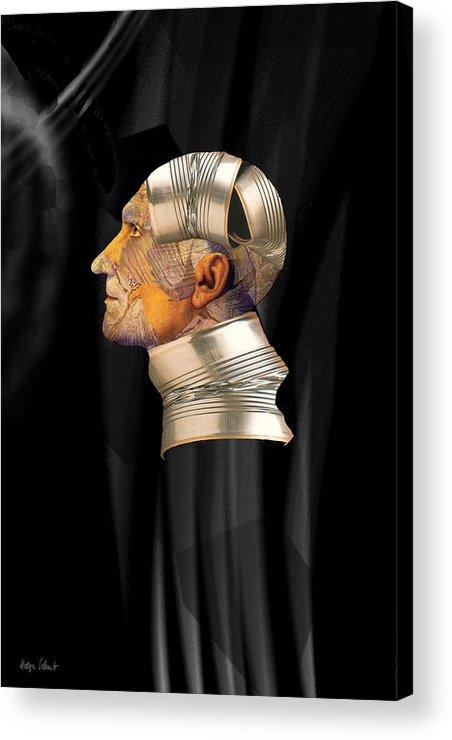 Fantasy Acrylic Print featuring the digital art Tinman by Helga Schmitt