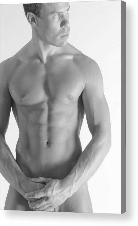 Nude Acrylic Print featuring the photograph Torso B by Dan Nelson